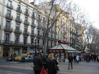 La Rambla -Barcelona-visaparaviajar.com